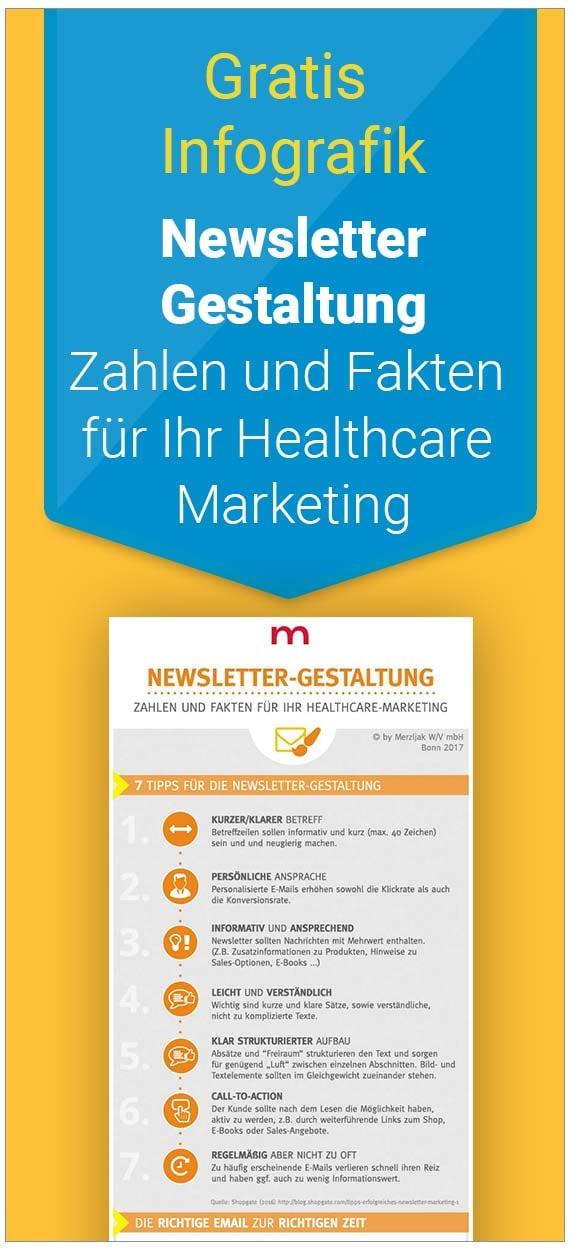 Cocer Infografik_Newsletter-Gestaltung für Healthcare Marketing
