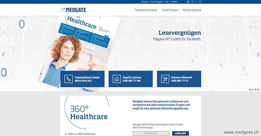Telemedizin auf dem Vormarsch: MedGate